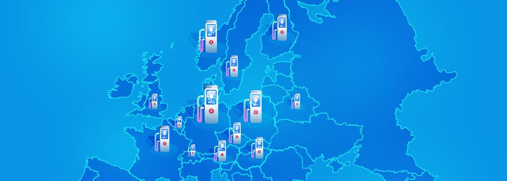 ultraszybkie ładowarki samochodowe projekt europejski polska stacje ładowania