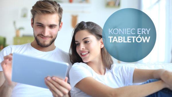 tablety coraz mniej popularne