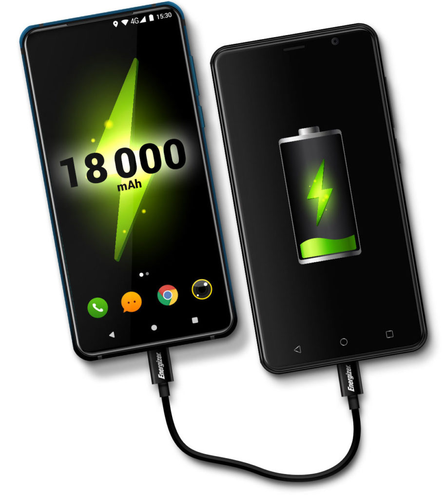 Smartfon i power bank w jednym. Energizer Power Max P18K Pop