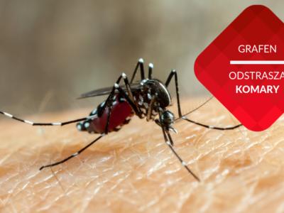 grafen odstrasza komary