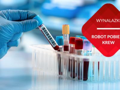 robot pobiera krew