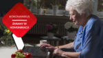przenosnepl starsza pani rozmowa wideo laptop messenger