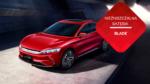 samochód elektryczny czerwony niezniszczalna bateria blade