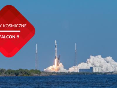 przenosnepl_falcon 9 rakieta kosmiczna startuje na przylądku canaveral