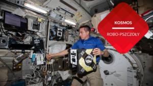 przenosnepl_robo-pszczoła honey w stacji kosmicznej z astronautą