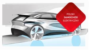 przenosnepl_prototyp polskiego samochodu elektrycznego szkic