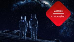 przenosnepl_astronauci w kombinezonach na powierzchni księżyca patrzą w kosmos