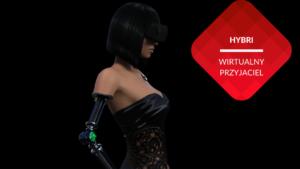 przenosnepl_hybri_awatar kobiety humanoida w półcieniu