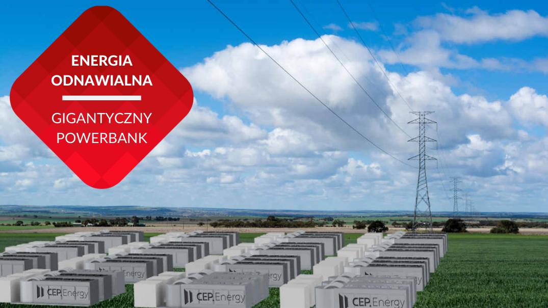 przenosnepl_wizualizacja gigantycznego magazynu energii odnawialnej w Australii