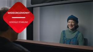 przenosnepl_magiczne okno google starline kobieta w rzeczywistych rozmiarach rozmawia z mezczyzna online
