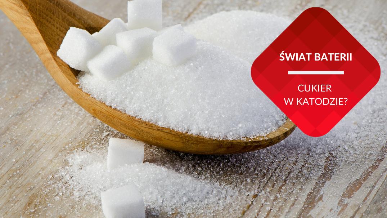 przenosnepl_bialy cukier na lyzce cukier jako stabilizator elektrody siarkowej w baterii litowo-siarkowej